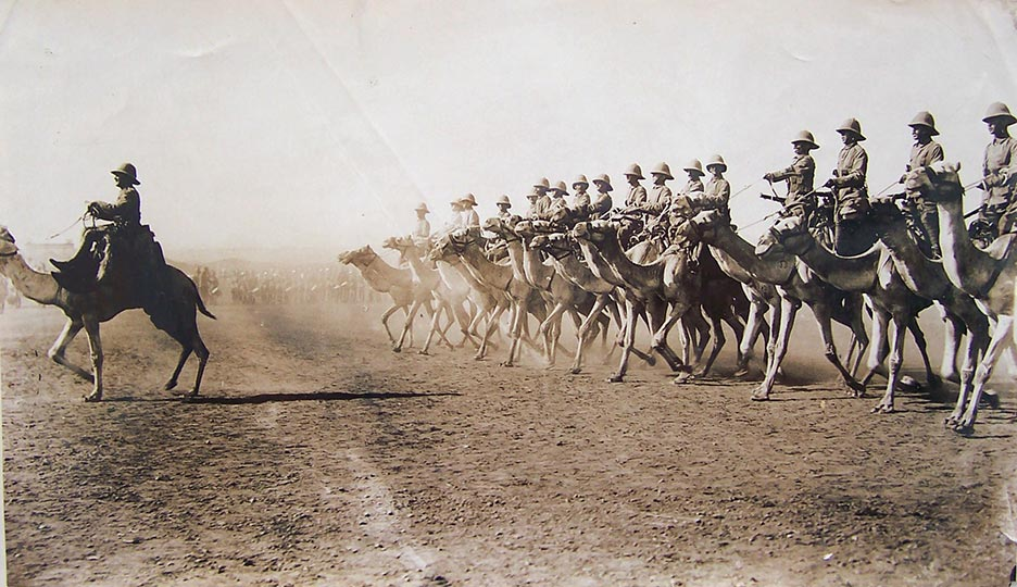 George Soper - WW1 - British Camel Corps