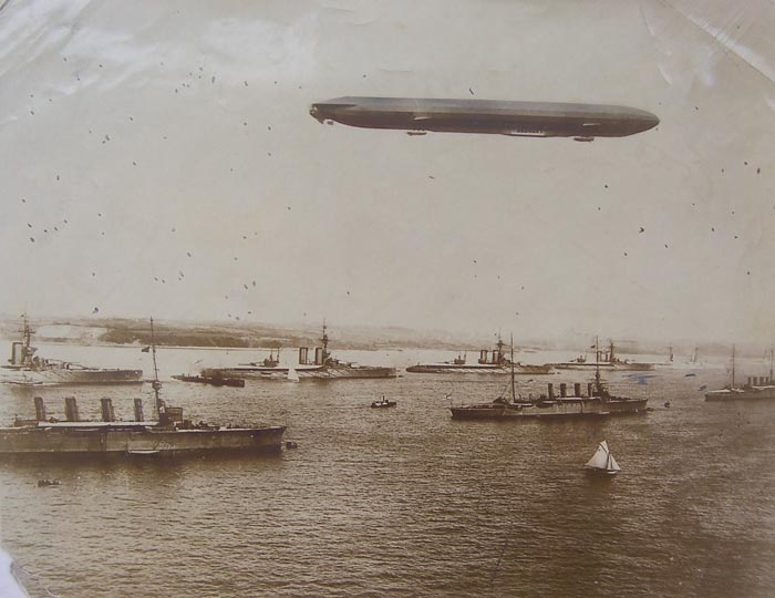George Soper - WW1 - Zeppelin