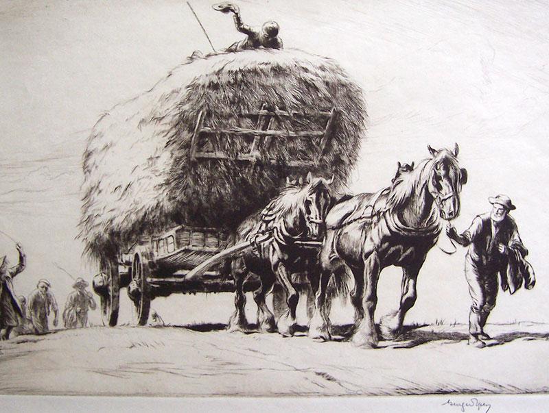 Summer - The Last Load – George Soper