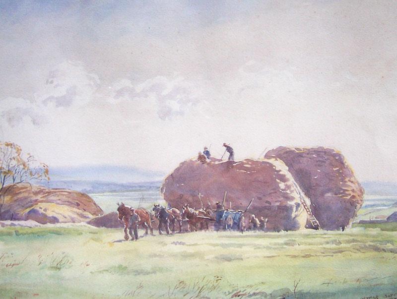 Haystacks - Talcombe – George Soper