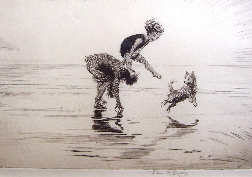 Leap Frog on the Sands - Eileen Soper