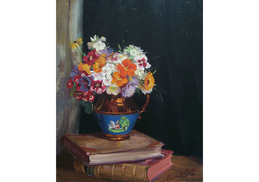 A Summer Posy on Two Books - Eileen Soper